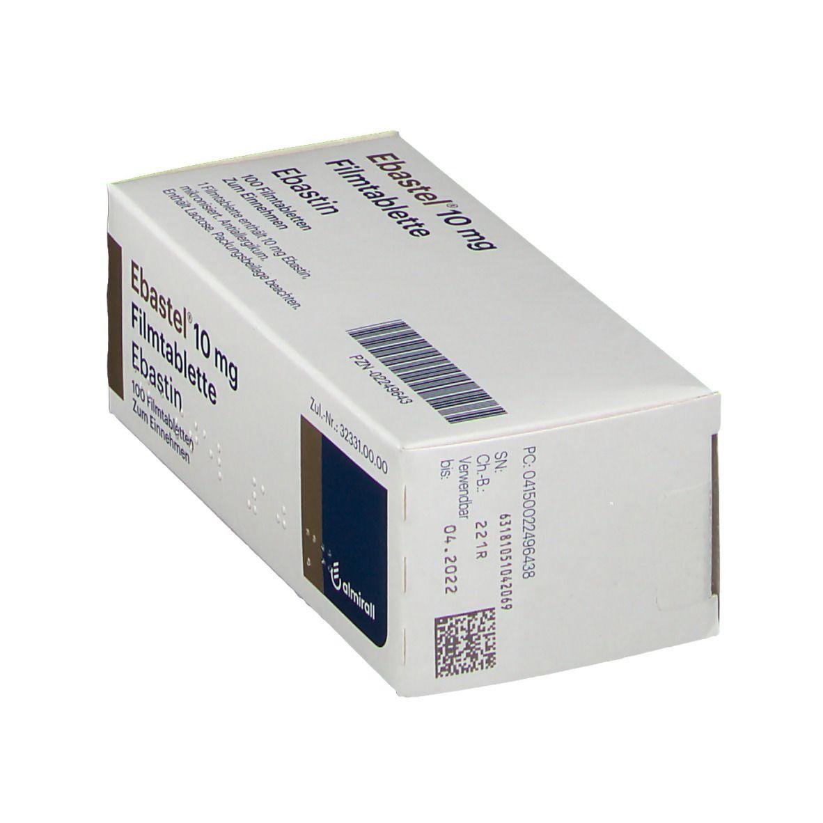 Ebastel 10 mg Filmtabletten