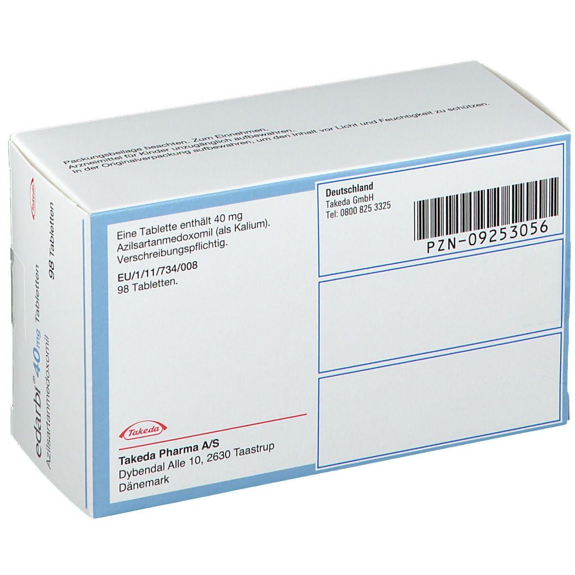 EDARBI 40 mg