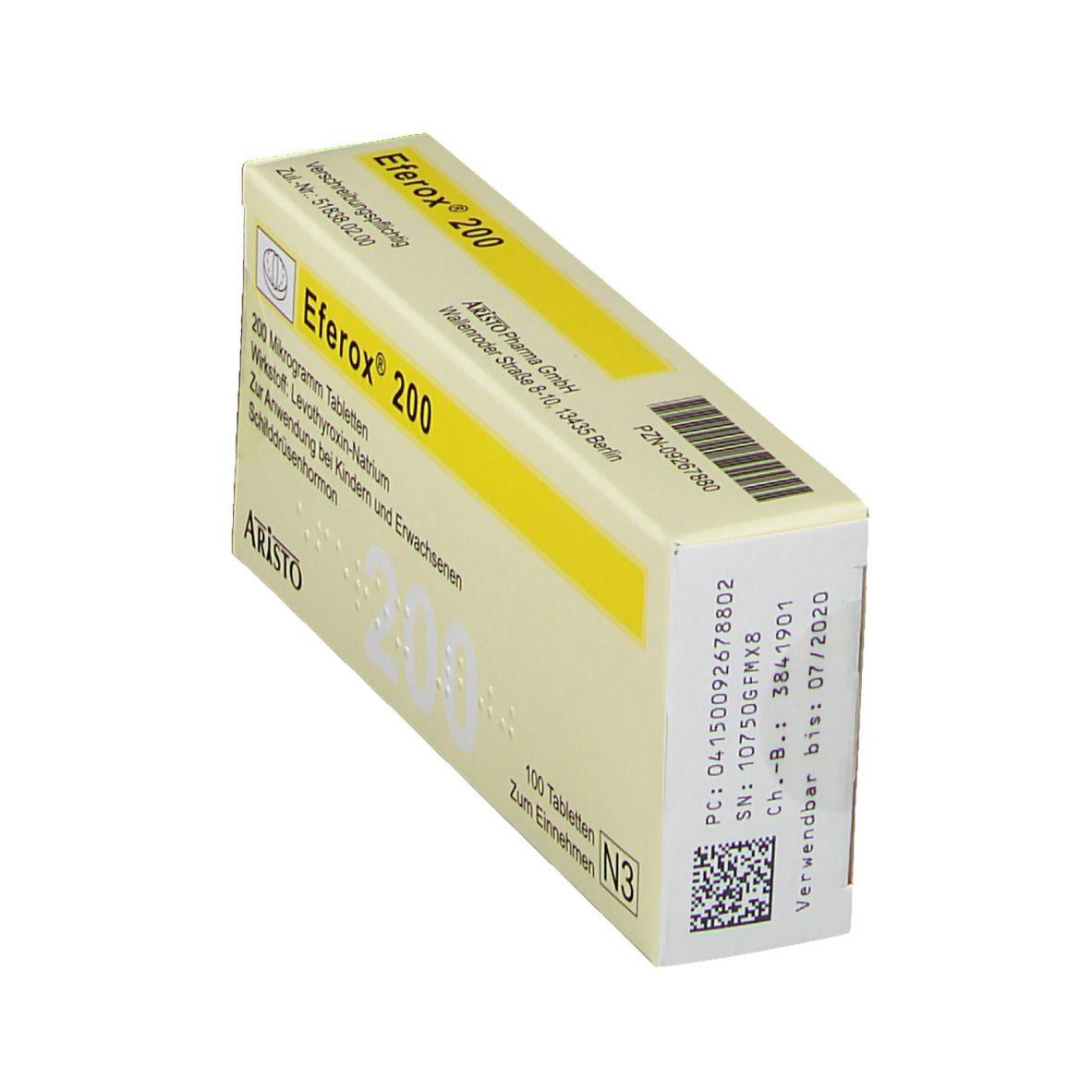 EFEROX 200 Tabletten