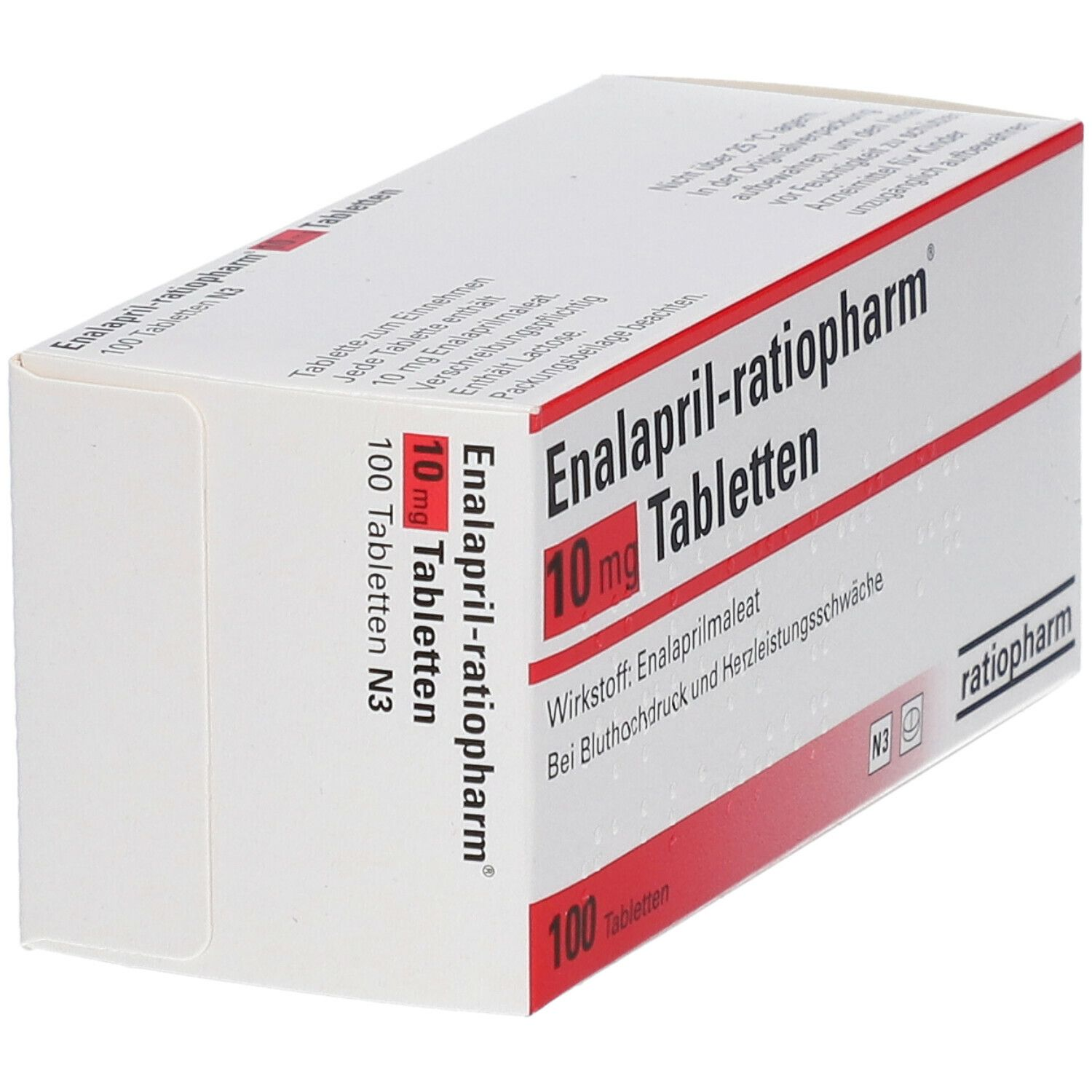 Enalapril ratiopharm® 10 mg Tabletten