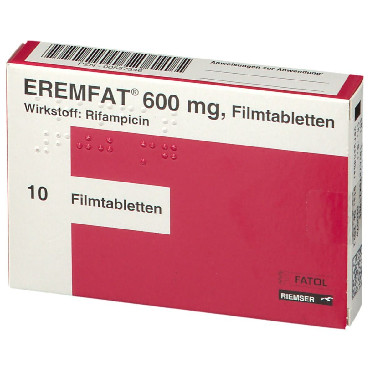 Eremfat 600 Filmtabletten