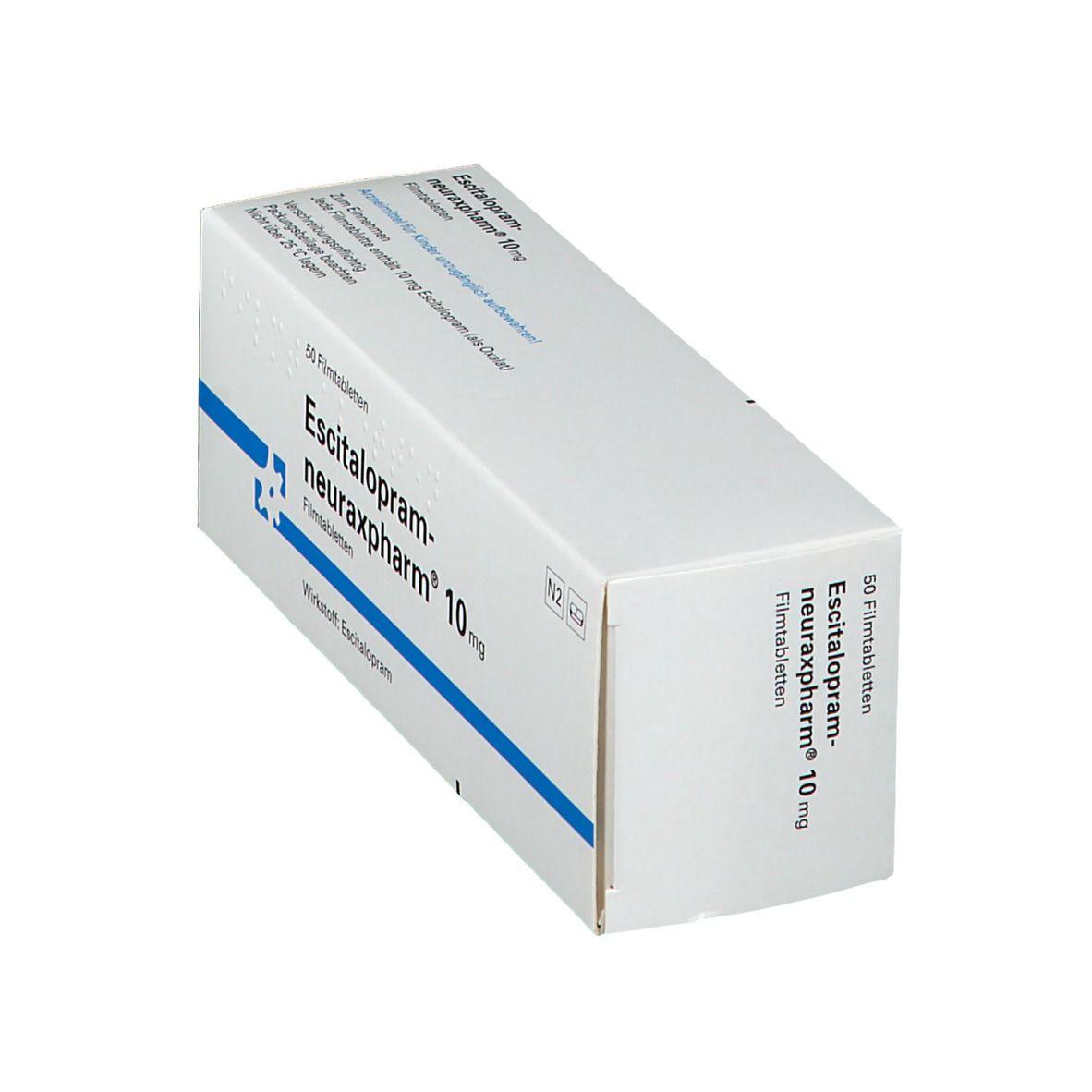 ESCITALOPRAM neuraxpharm 10 mg Filmtabletten