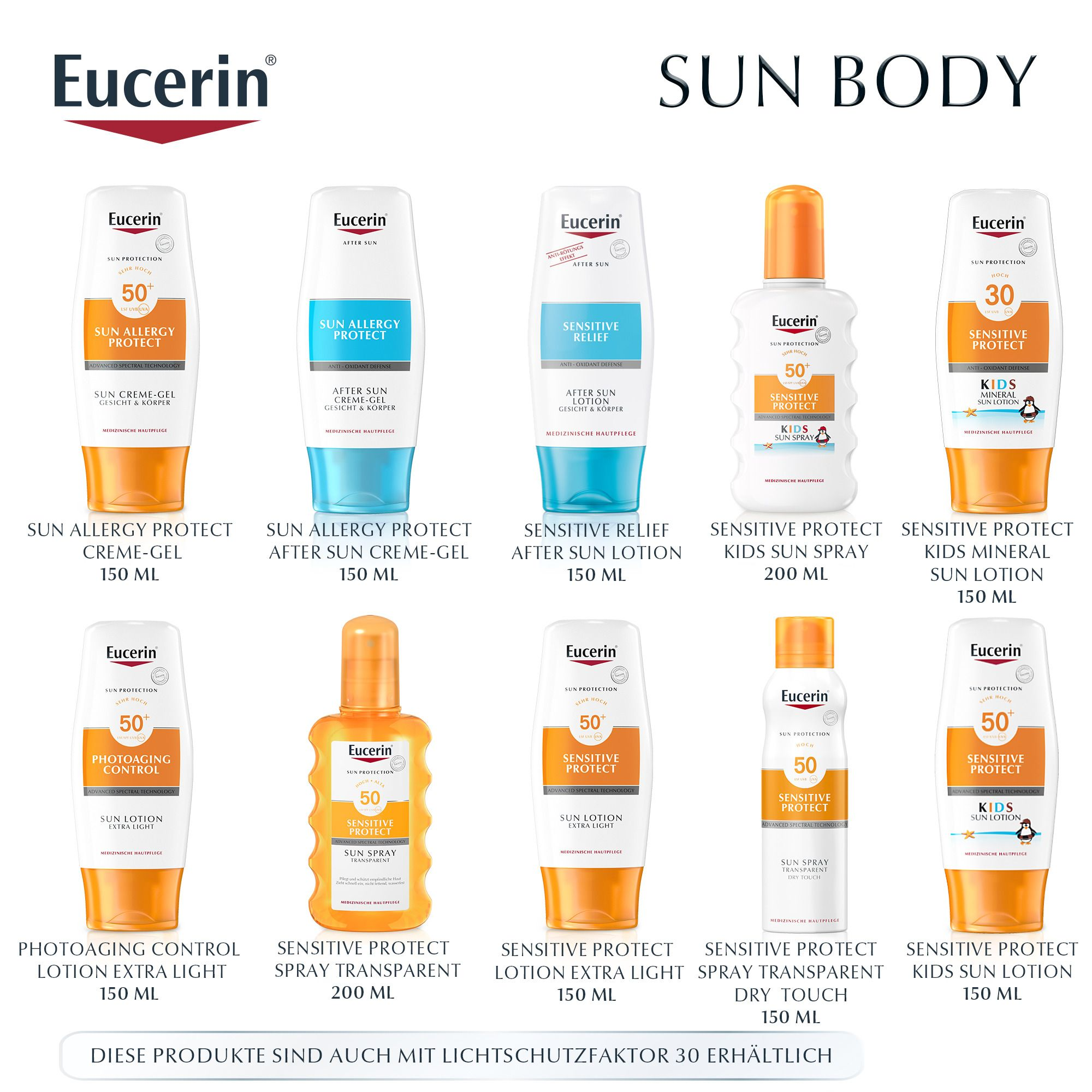Eucerin Sun Sensitive Protect Face Fluid LSF 50+