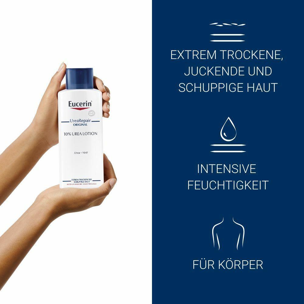 Eucerin® UreaRepair ORIGINAL Lotion 10 % + 100 ml Eucerin® ph5 Duschöl GRATIS