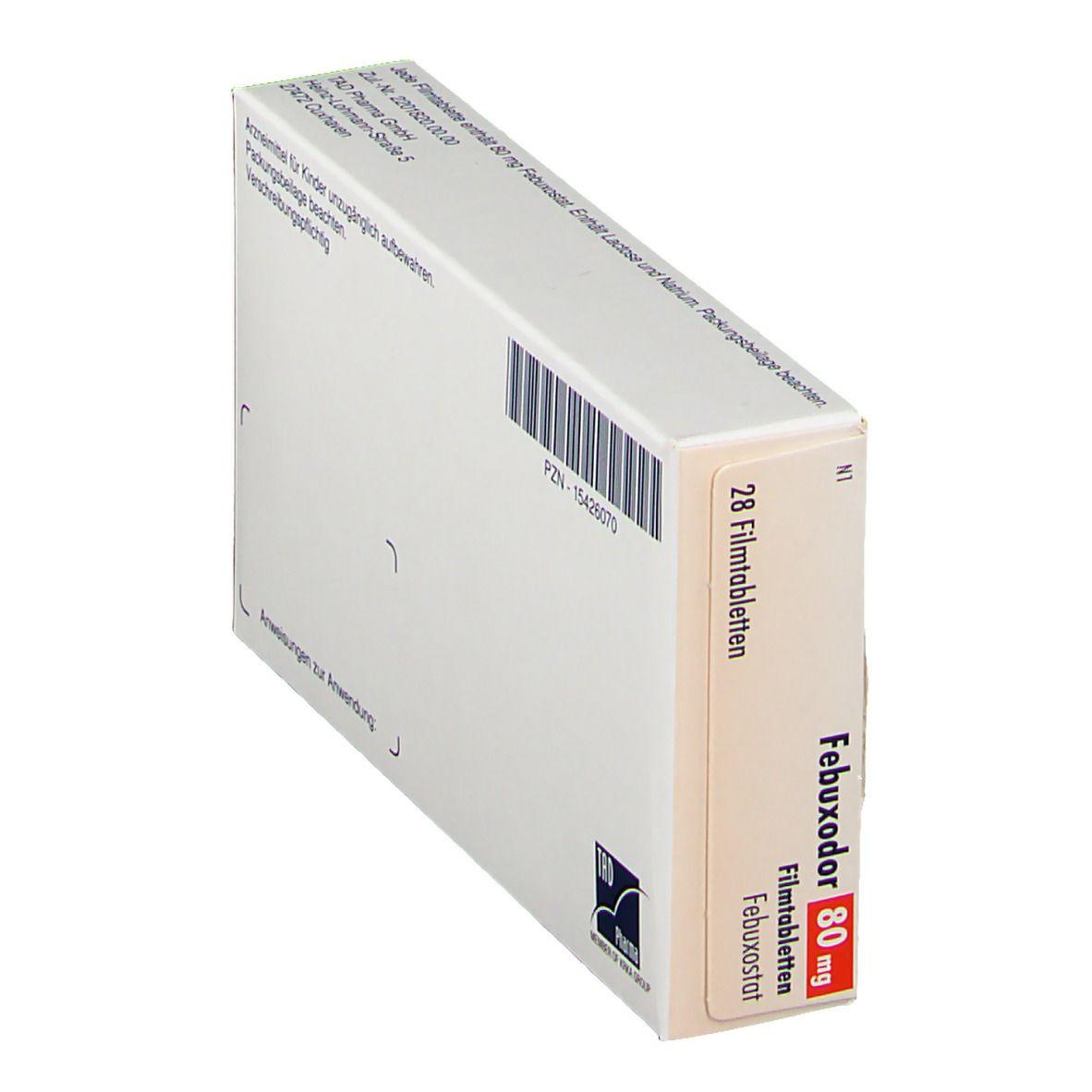 FEBUXODOR 80 mg Filmtabletten