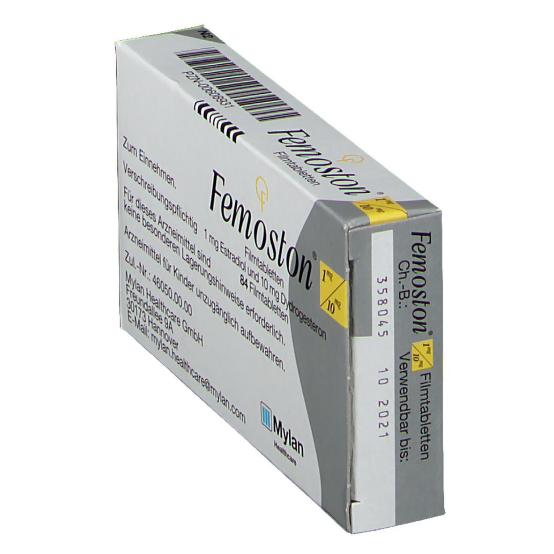 Femoston 1/10 mg Filmtabl.