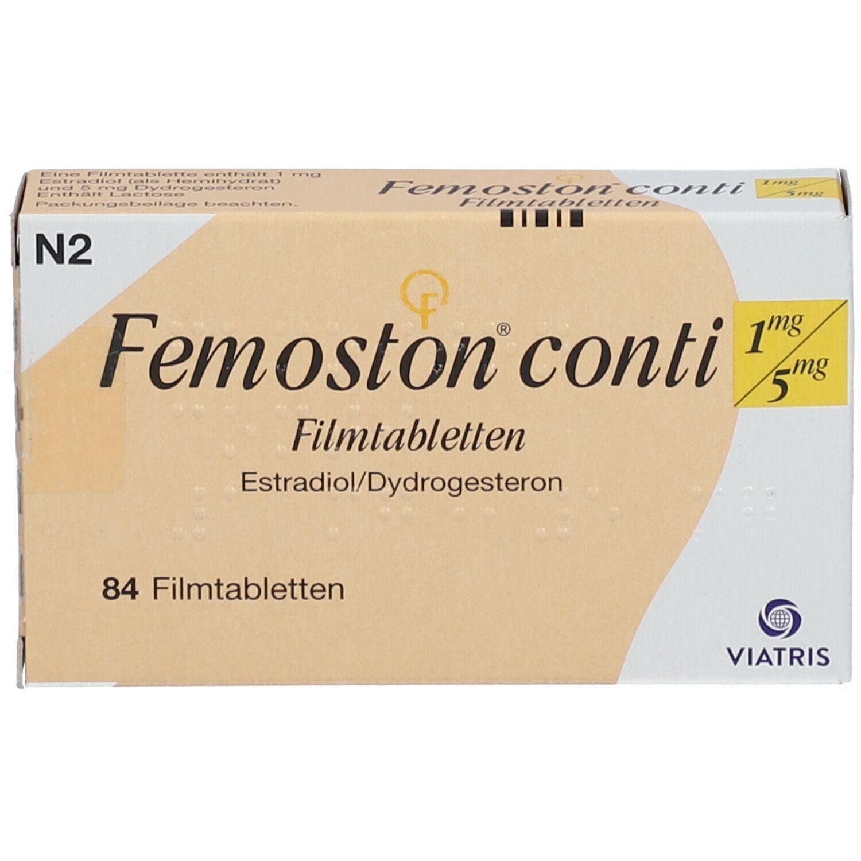 Femoston Conti 1 mg/5 mg Filmtabletten