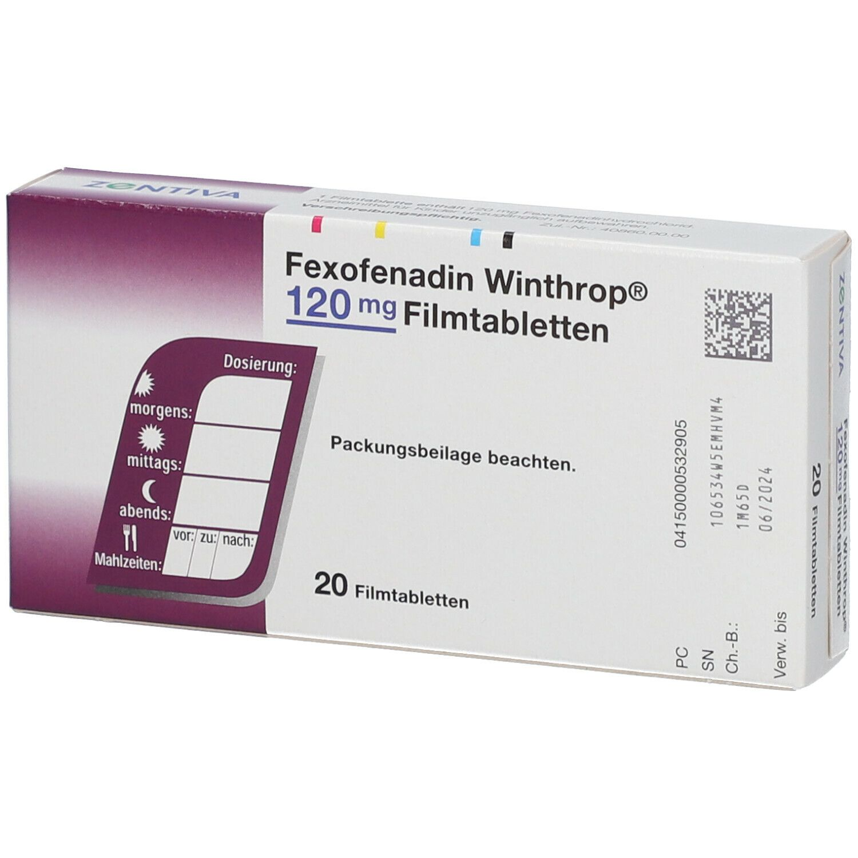 FEXOFENADIN Winthrop 120 mg Filmtabletten