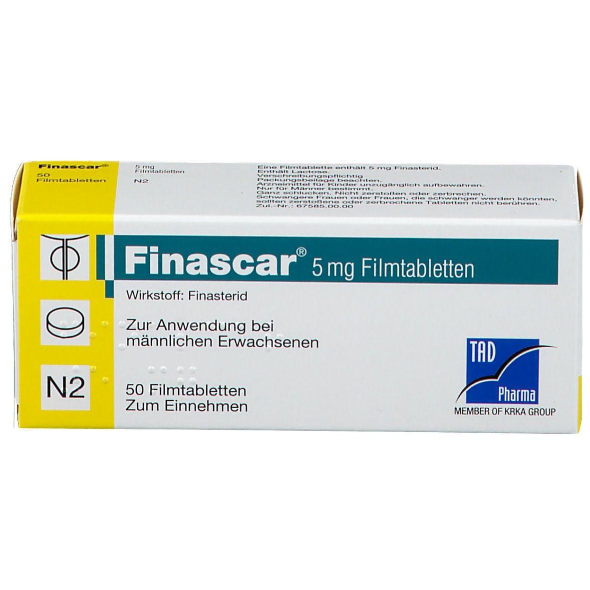 FINASCAR 5 mg Filmtabletten