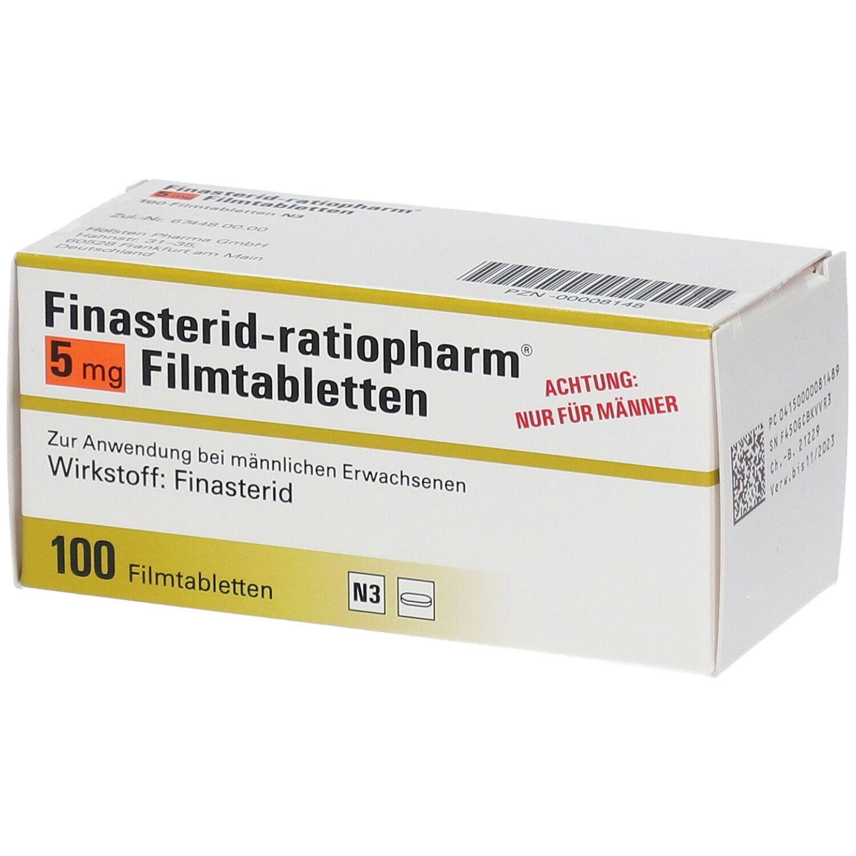Finasterid Ratiopharm 5 mg Filmtabletten