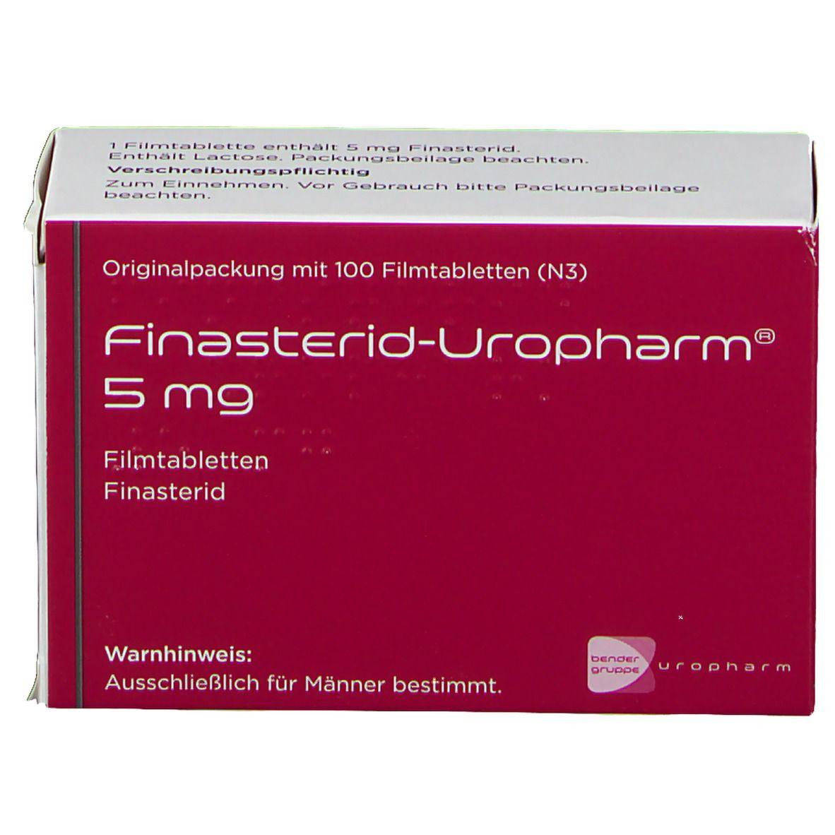 FINASTERID Uropharm Filmtabletten