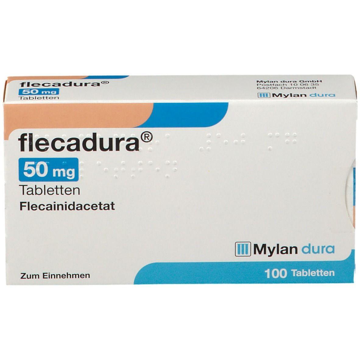 Flecadura 50 mg Tabletten
