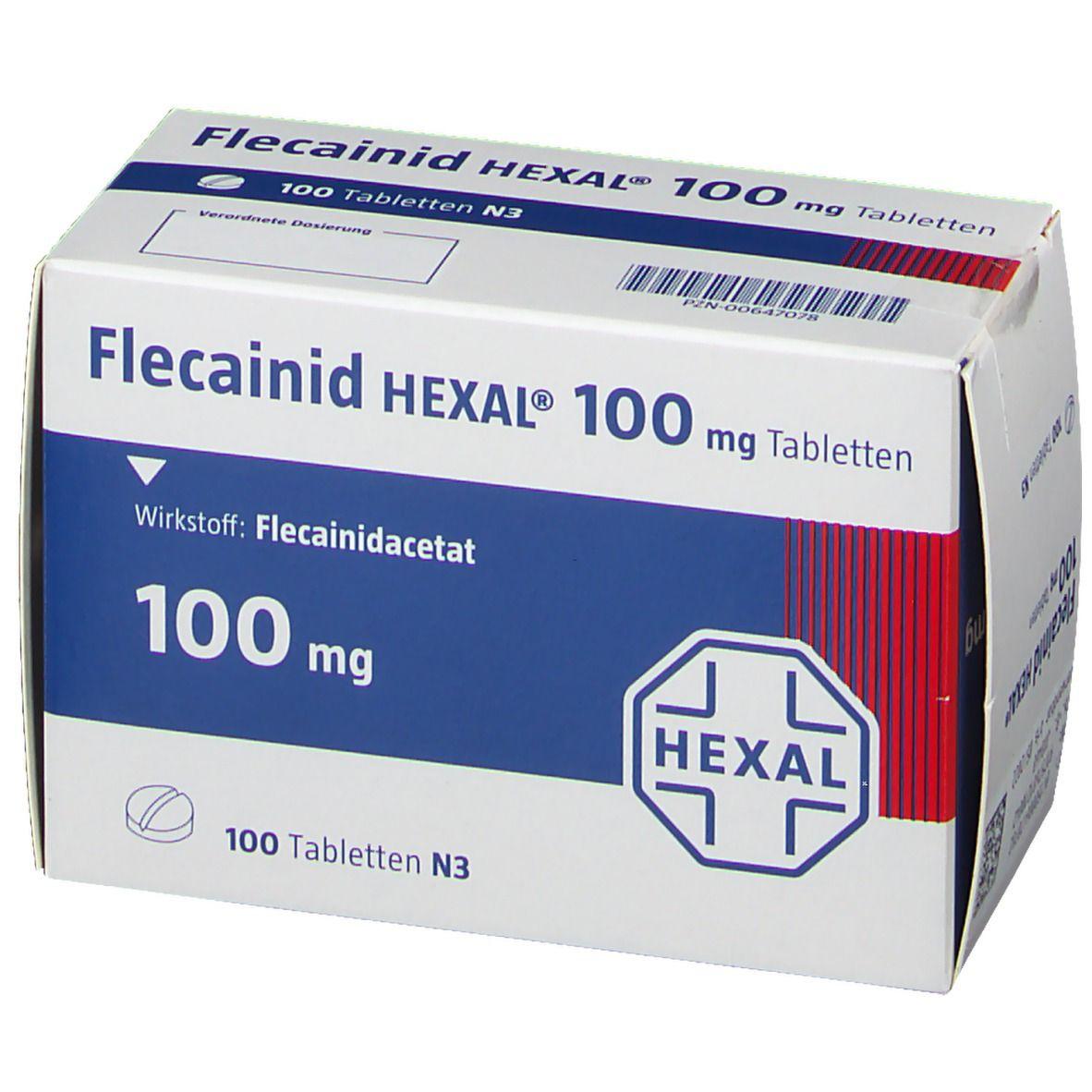 Flecainid Hexal 100 mg Tabletten