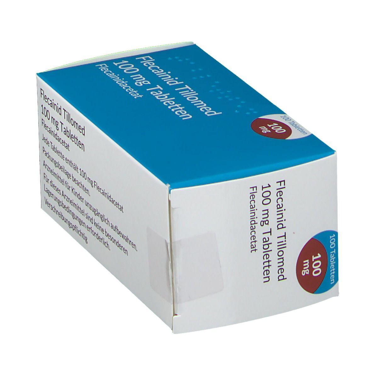 FLECAINID Tillomed 100 mg Tabletten