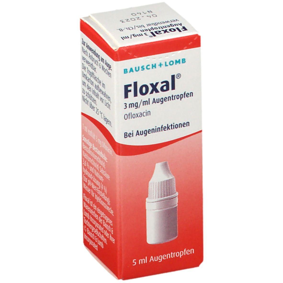 Floxal® Augentropfen 5 ml - shop-apotheke.com