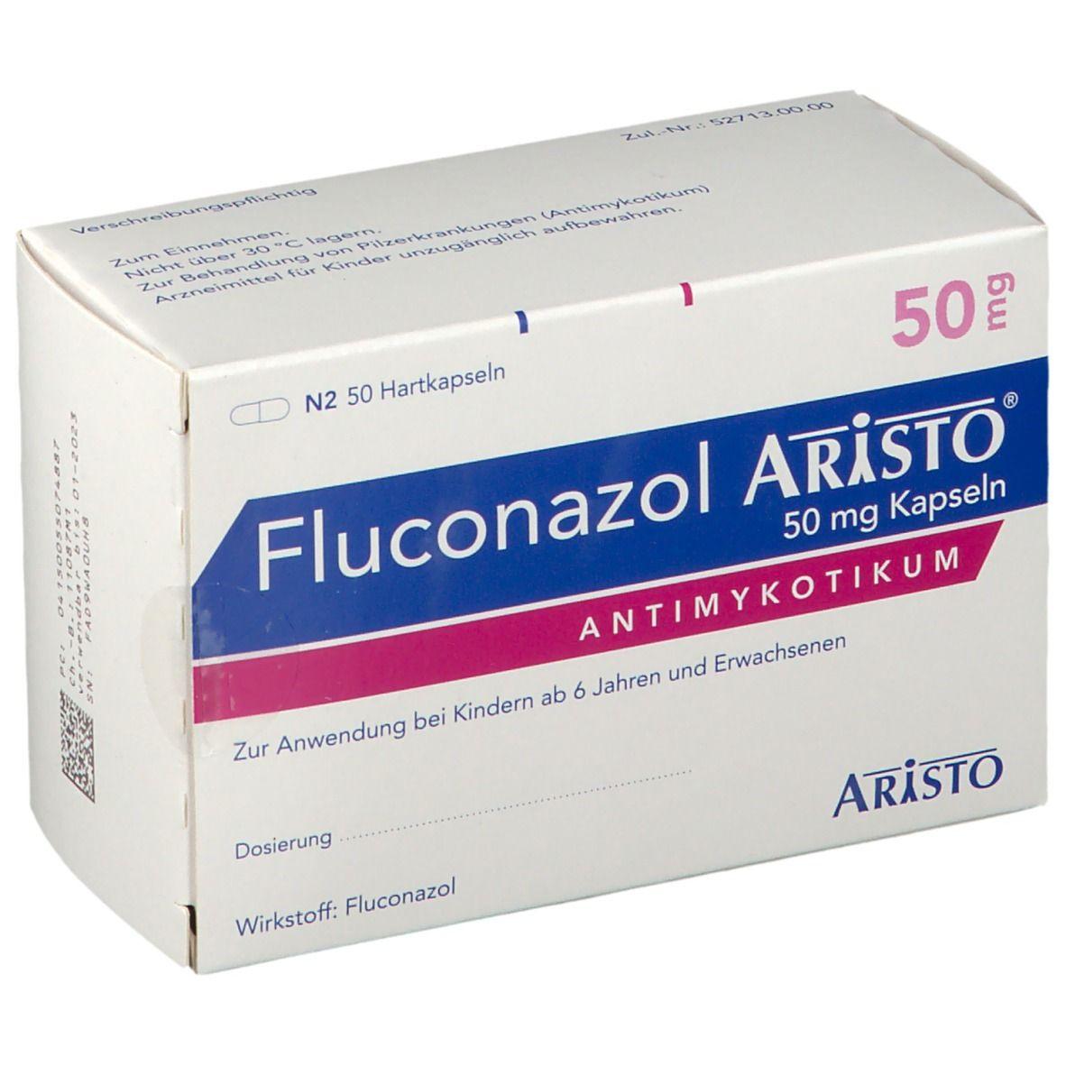 FLUCONAZOL ARISTO 50MG