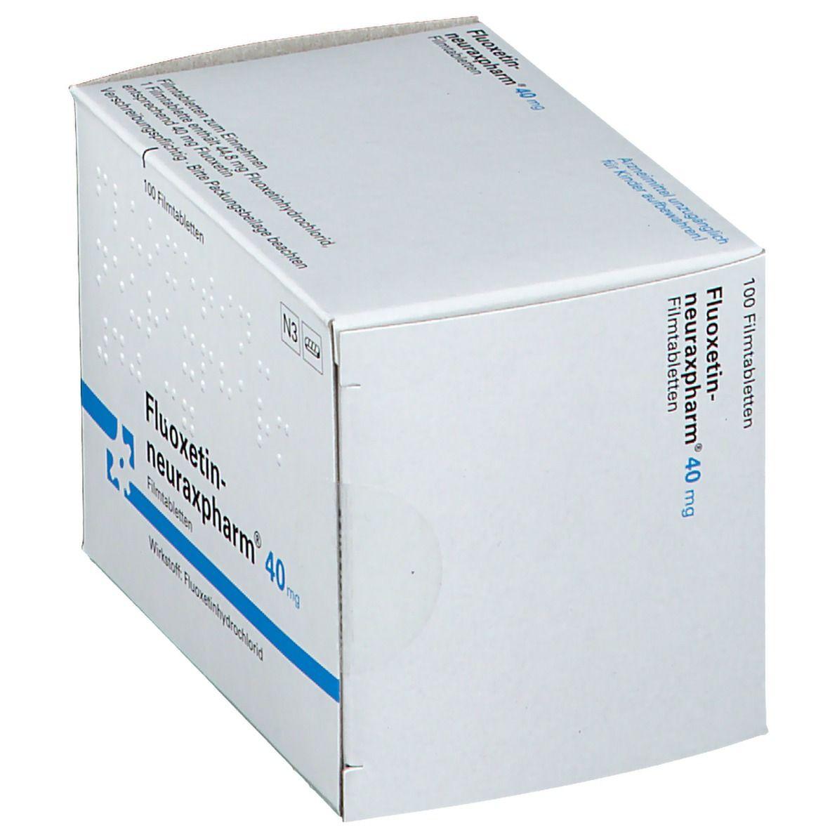 FLUOXETIN neuraxpharm 40 mg Filmtabletten