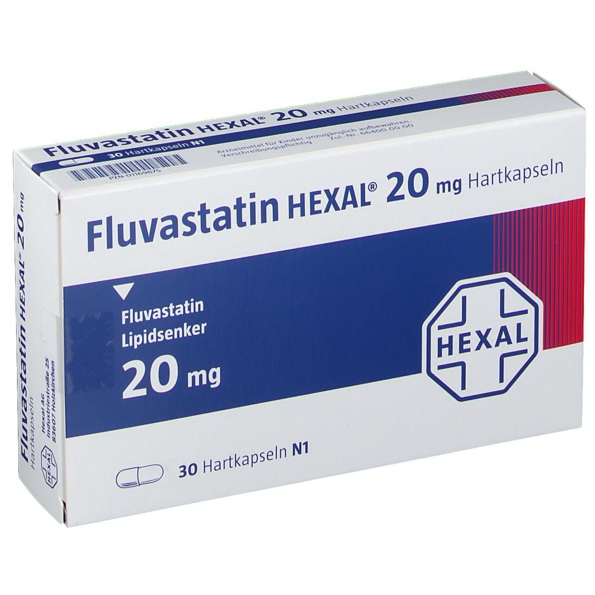 FLUVASTATIN HEXAL 20 mg Hartkapseln
