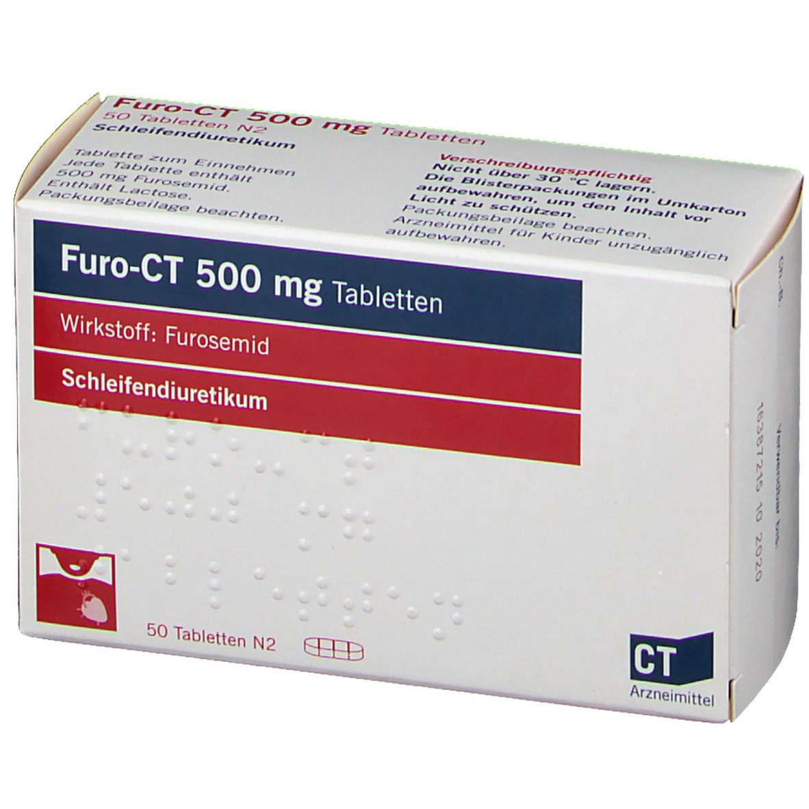 Furo-ct 500 mg Tabletten