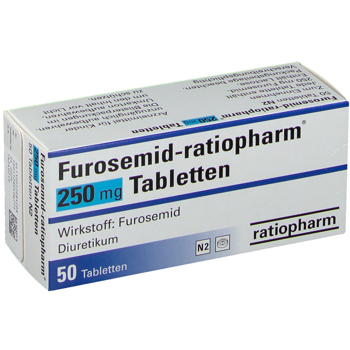 Furosemid-ratiopharm® 250 mg Tabletten