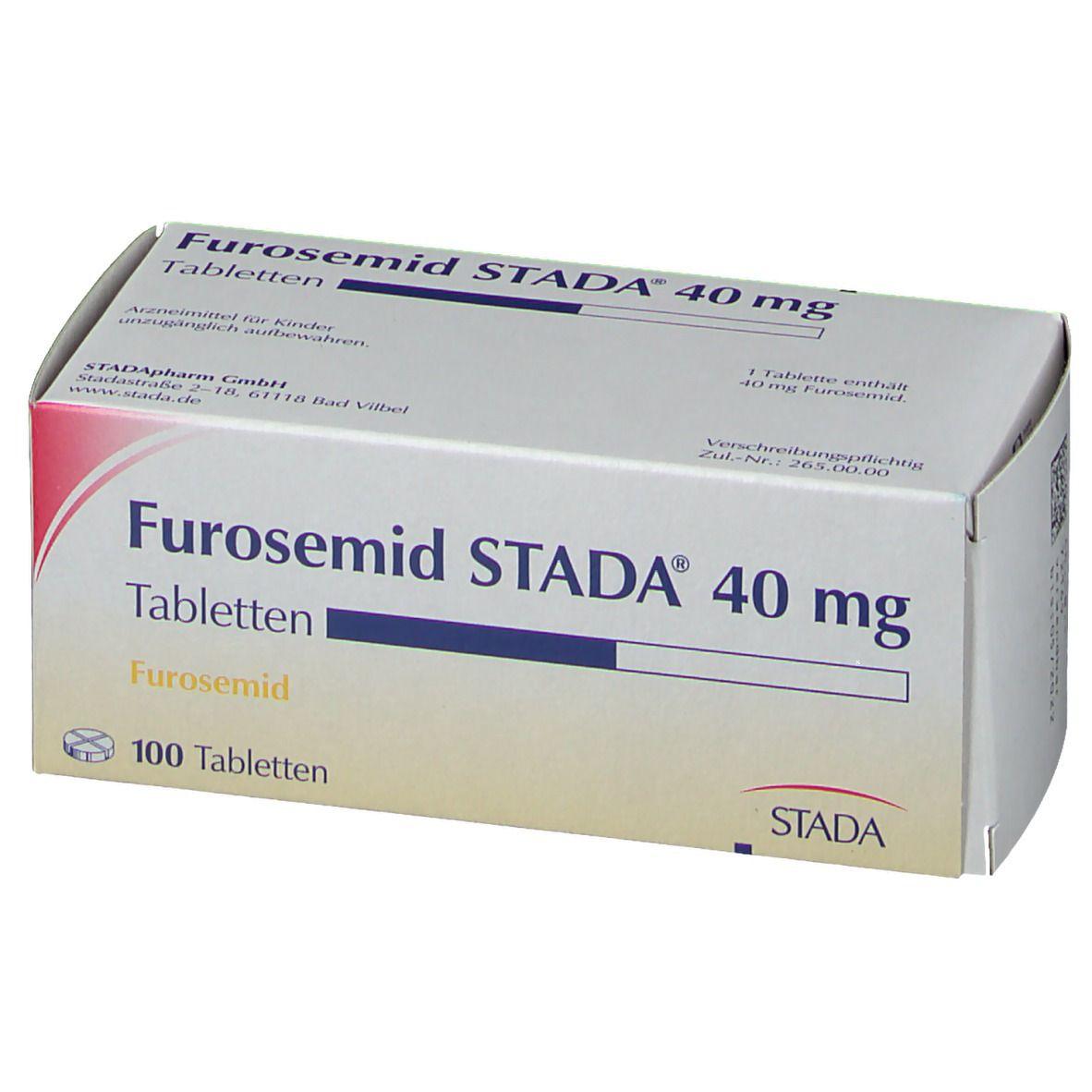 Furosemid STADA® 40 mg Tabletten