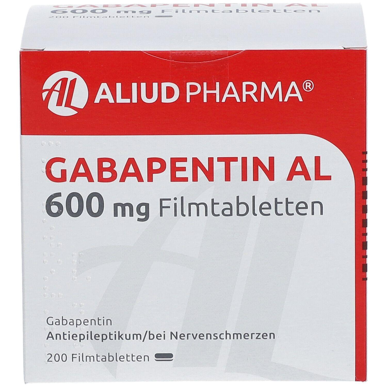 Gabapentin AL 600 mg Filmtabletten