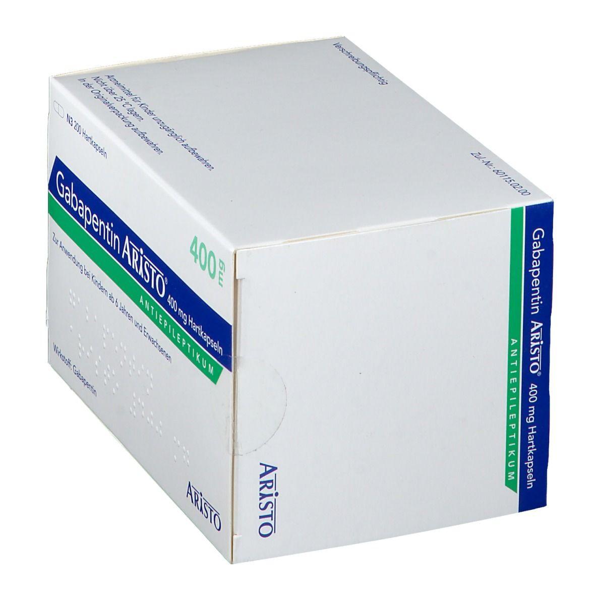 Gabapentin Aristo® 400 mg