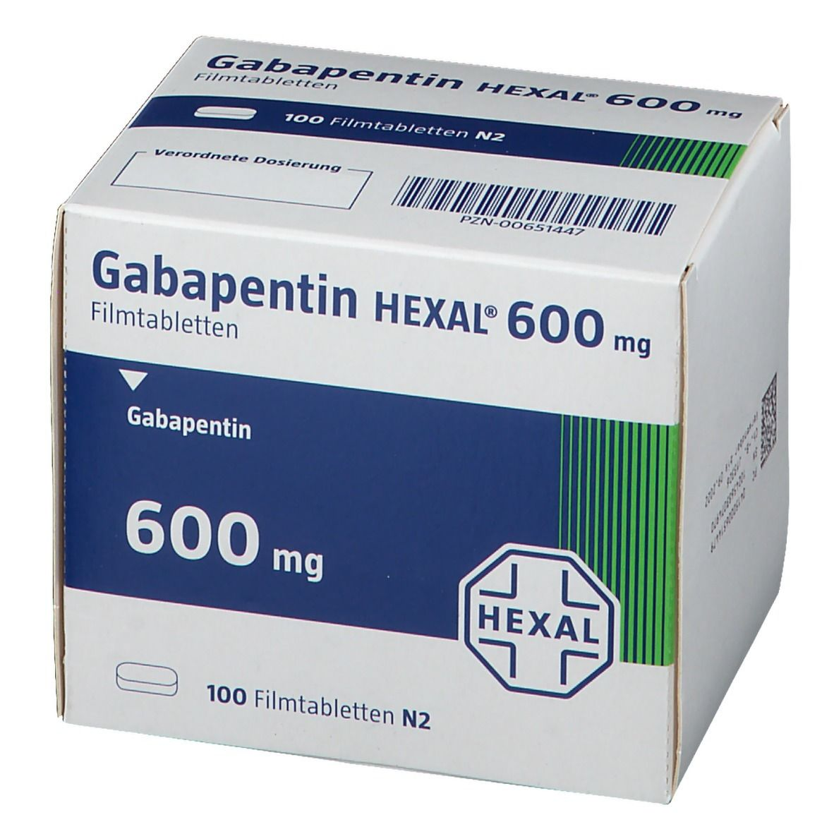 Gabapentin Hexal 600 mg Filmtabletten