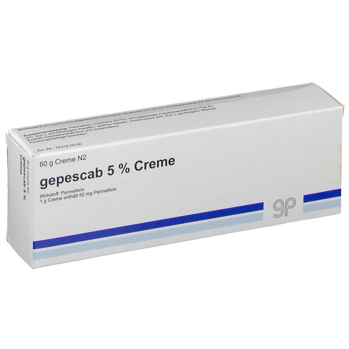 GEPESCAB 5% Creme