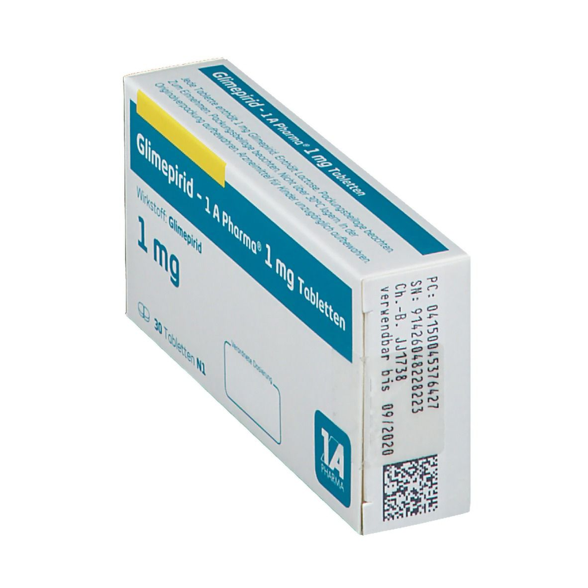 GLIMEPIRID 1A Pharma 1 mg Tabletten