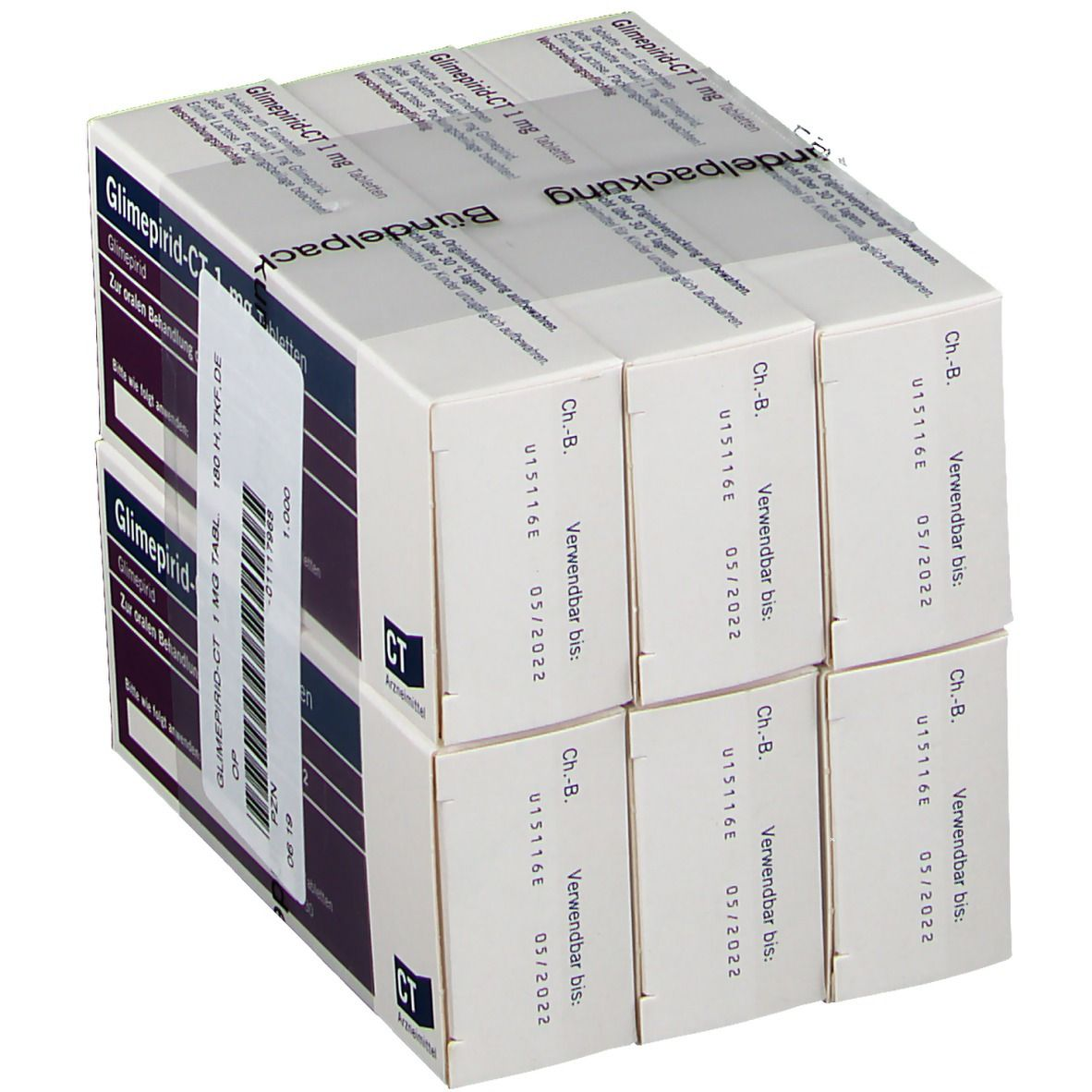 GLIMEPIRID-CT 1 mg Tabletten