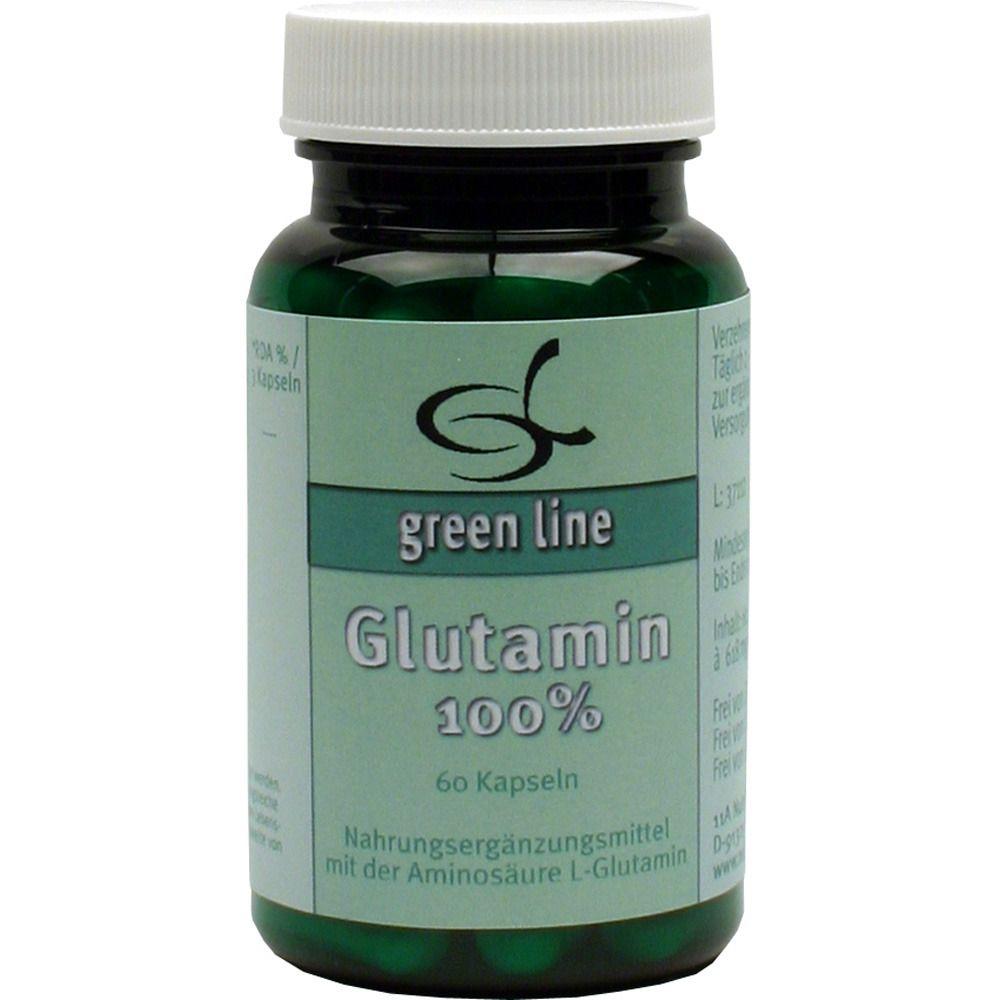 green line Glutamin 100 %