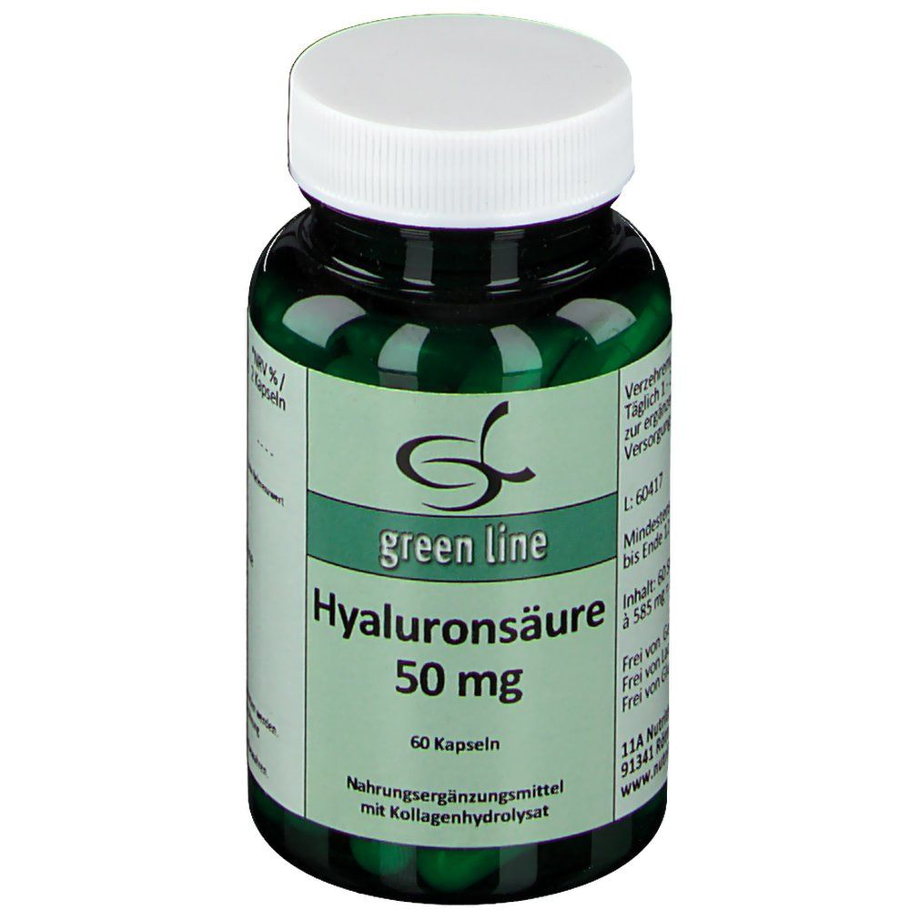 green line Hyaluronsäure 50 mg
