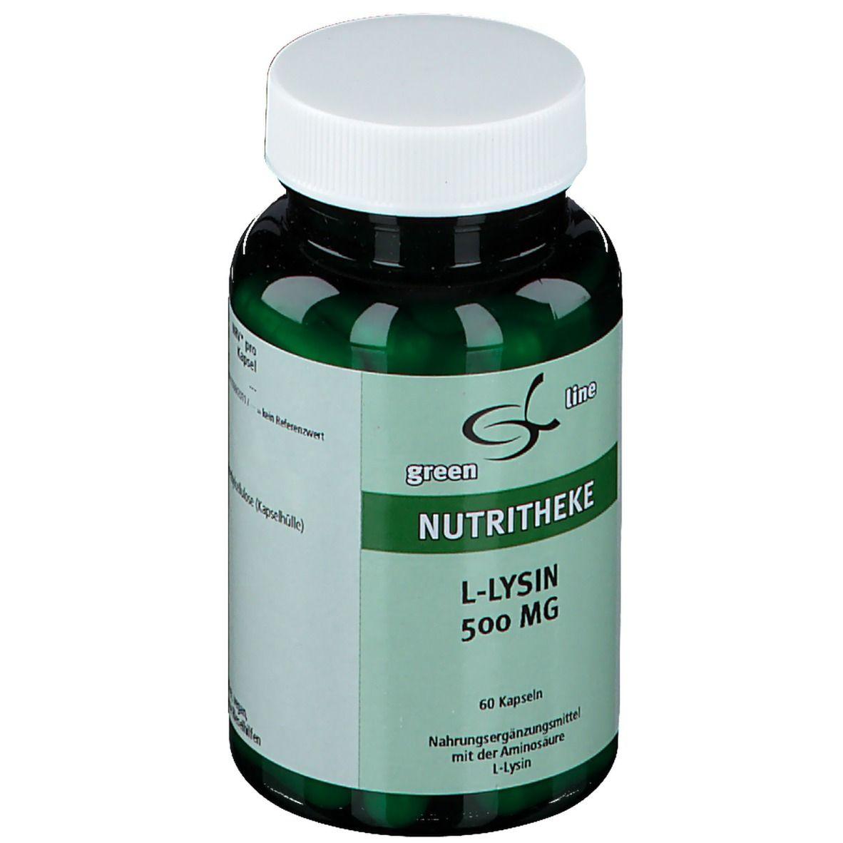 green line L-Lysin 500 mg