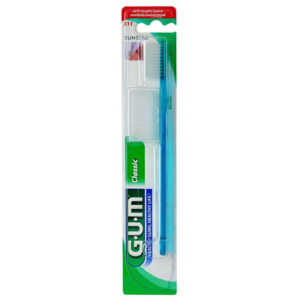 GUM® Classic Zahnbürste kurz soft 407