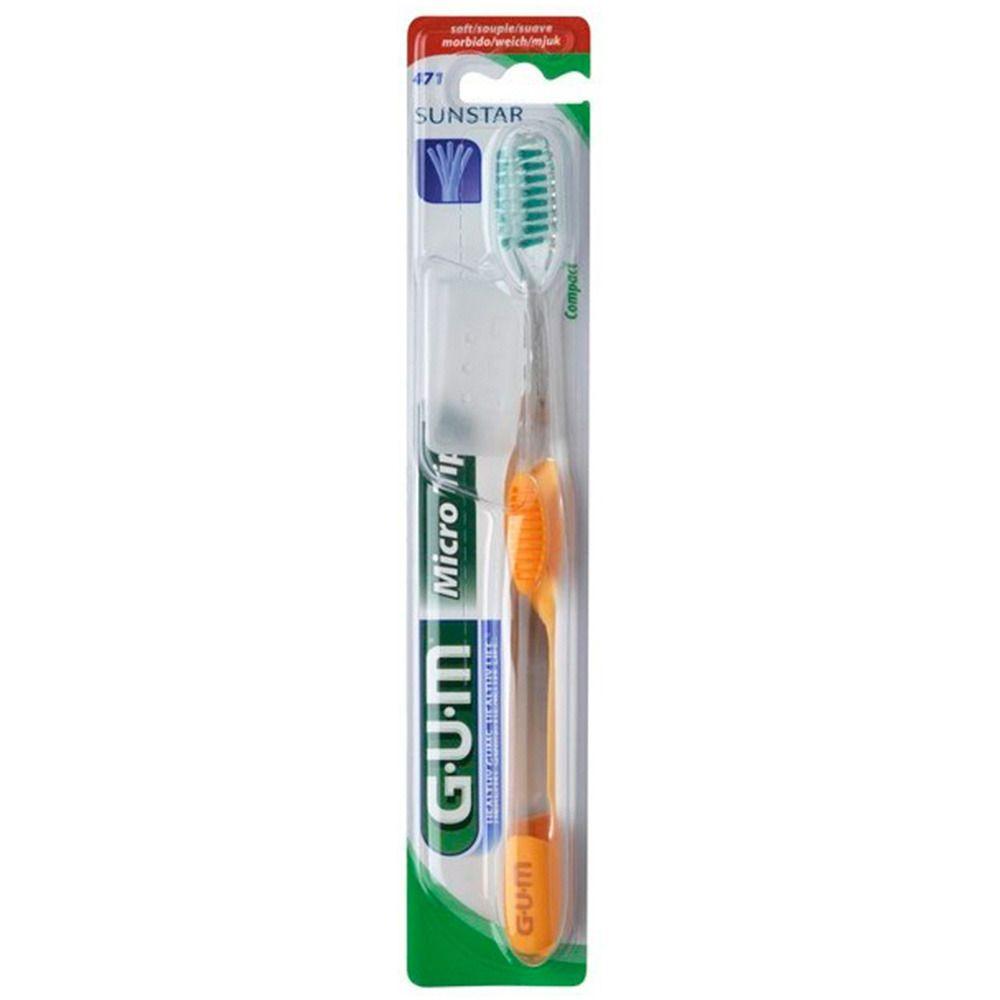 GUM® MicroTip Zahnbürste soft