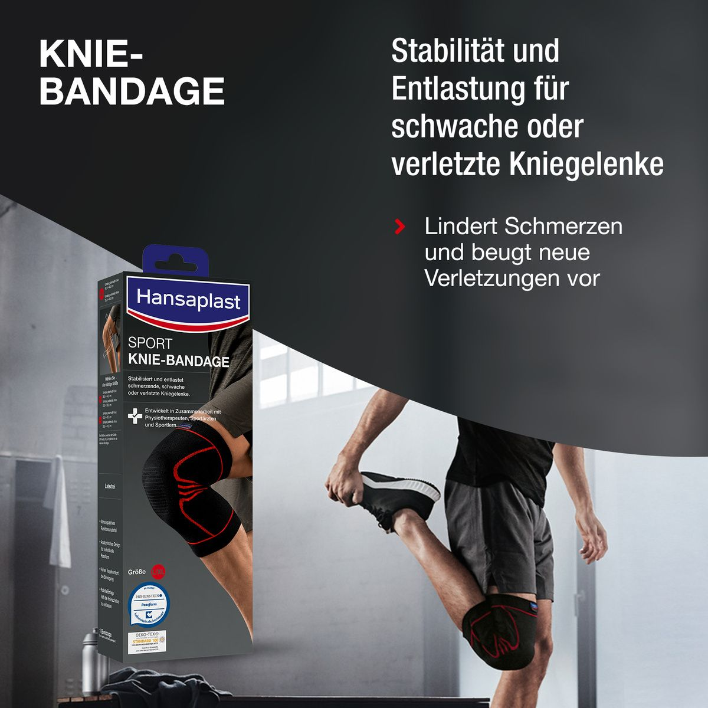 Hansaplast Sport Knie-Bandage Gr. L