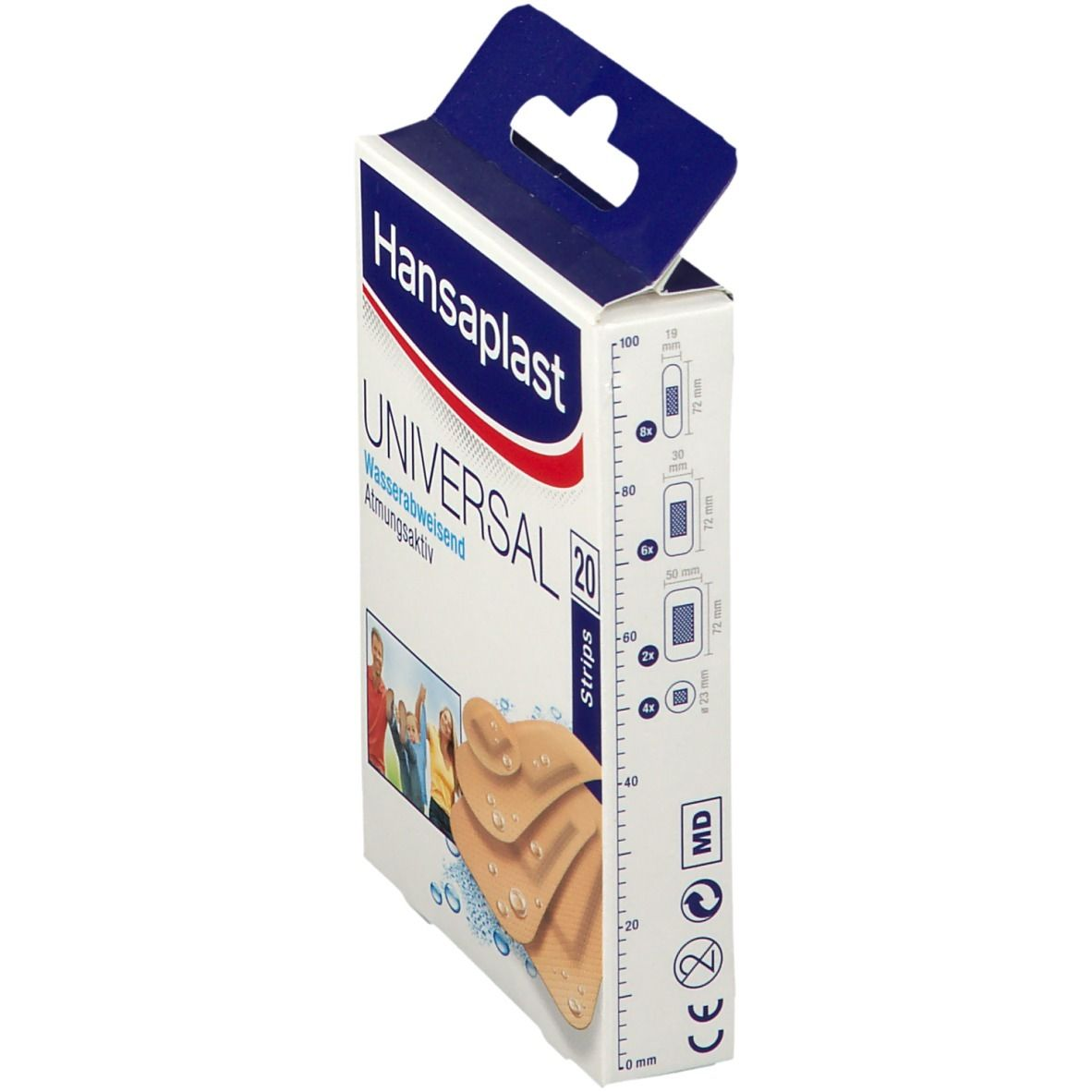 Hansaplast Universal Strips wasserfest