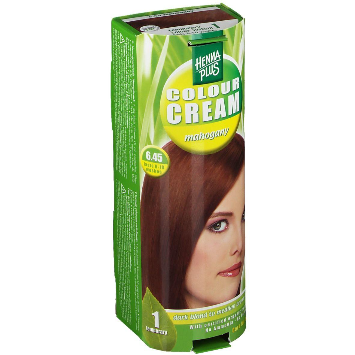 Hennaplus Colour Cream Mahogany 6,45