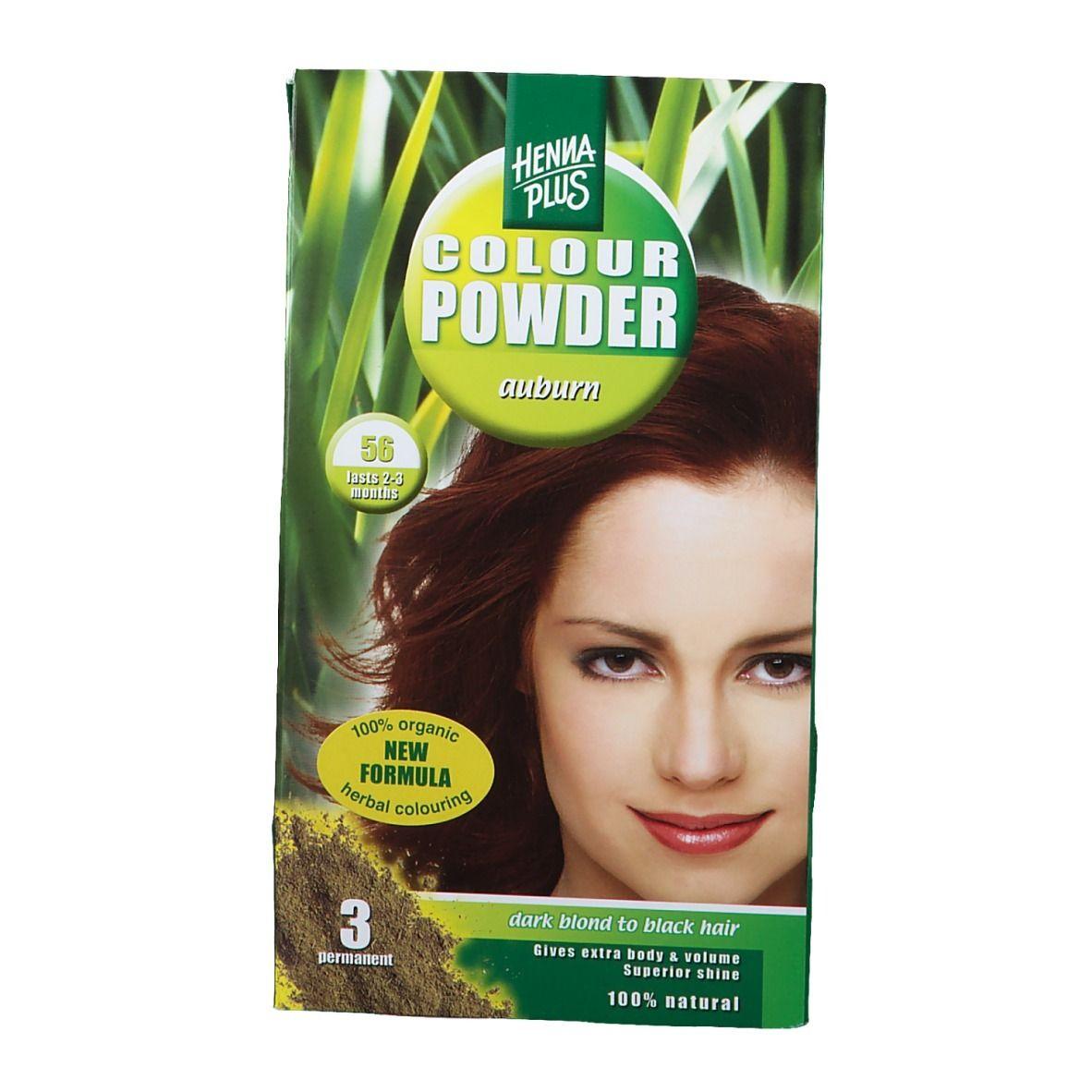 Hennaplus Colour Powder Auburn 56