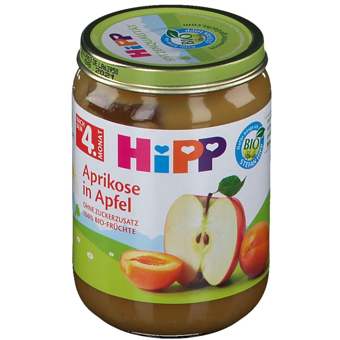 HiPP Aprikose in Apfel