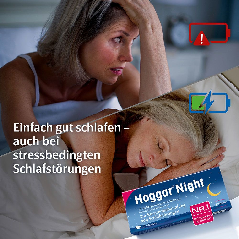 Hoggar® Night 25 mg Doxylaminsuccinat