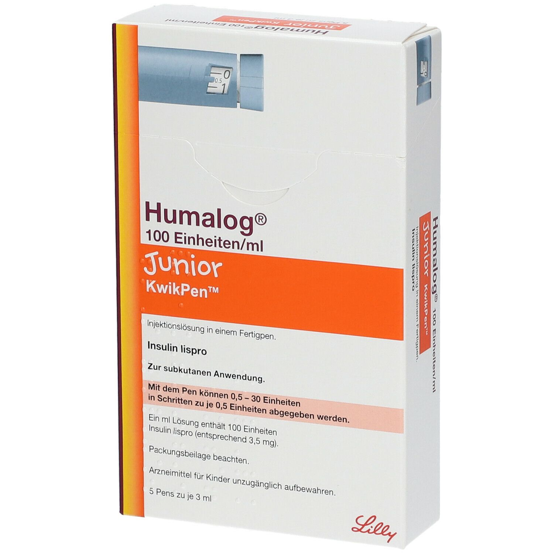 Humalog cartridges vb vs