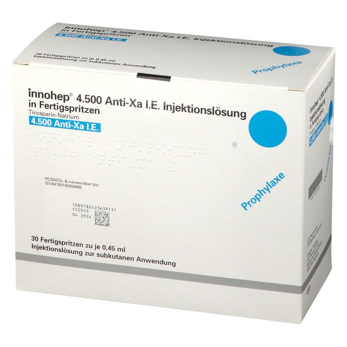 INNOHEP 4.500 Anti-Xa I.E. 0,45ml Fertigspritzen