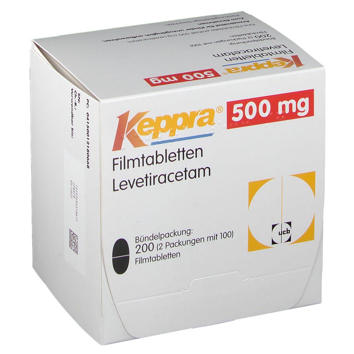 Keppra 500 mg Filmtabl.