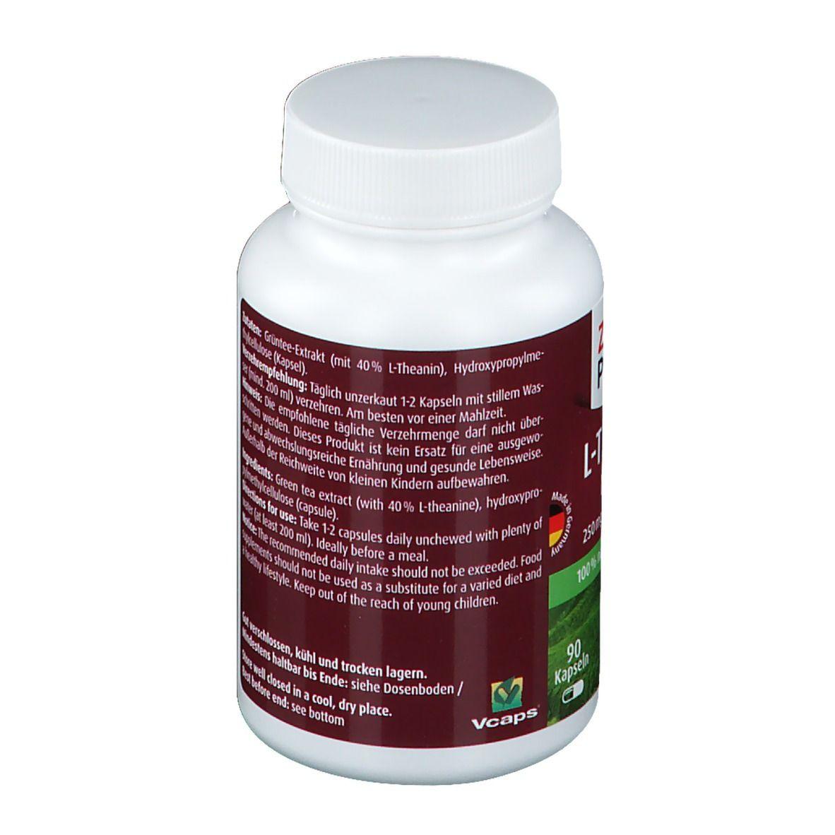 L Theanin Kapseln Natural 250 mg ZeinPharma