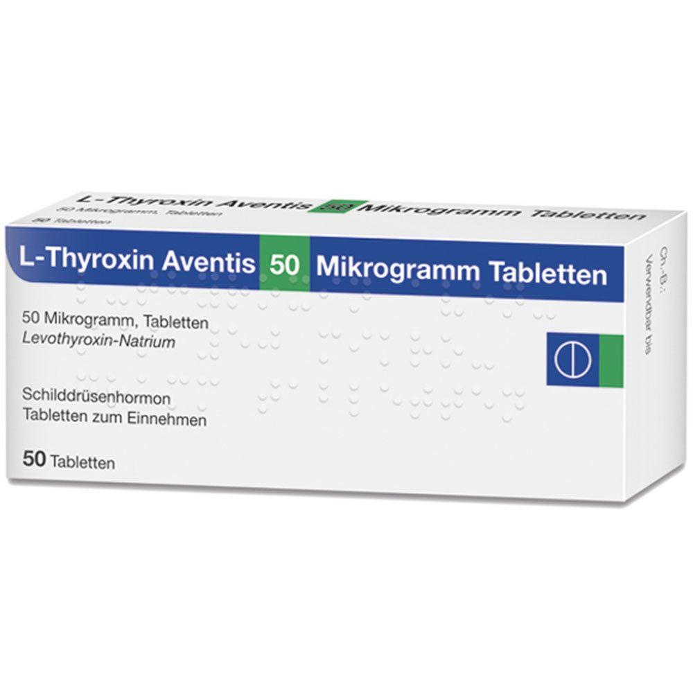 L-Thyroxin Aventis 50 µg