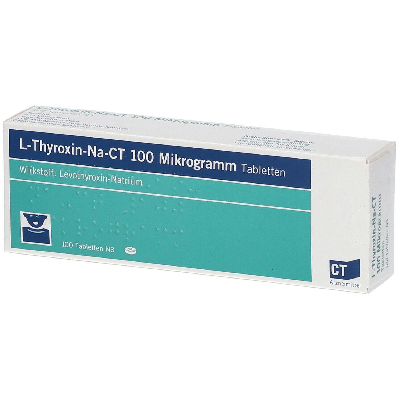 L THYROXIN-NA-CT 100UG