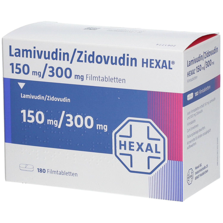 Lamivudin/Zidovudin HEXAL® 150 mg/300 mg