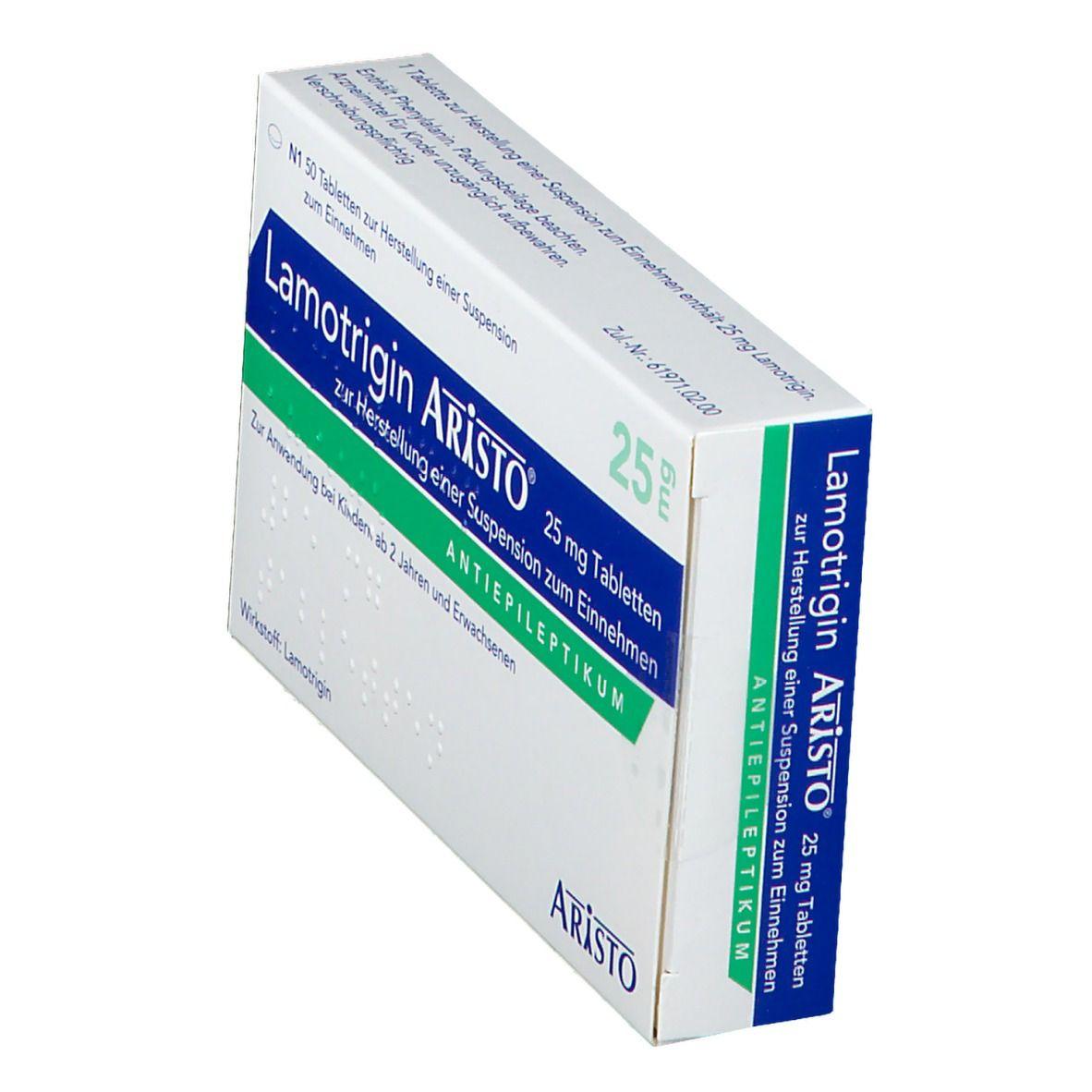 Lamotrigin Aristo® 25 mg